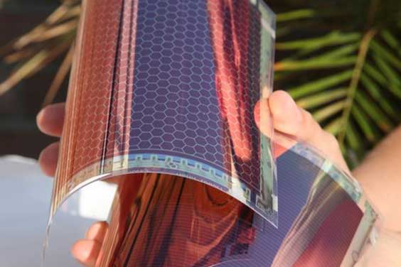 Buigbare Zonnecellen